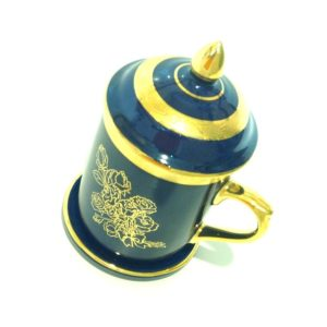 blue-gold-coffee-mug-thai-style