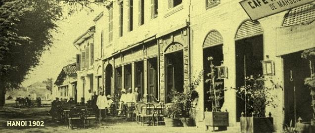 Street Cafe Hanoi 1902